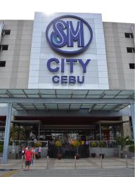 フィリピン・セブ島にあるショッピングモール、SM mall。