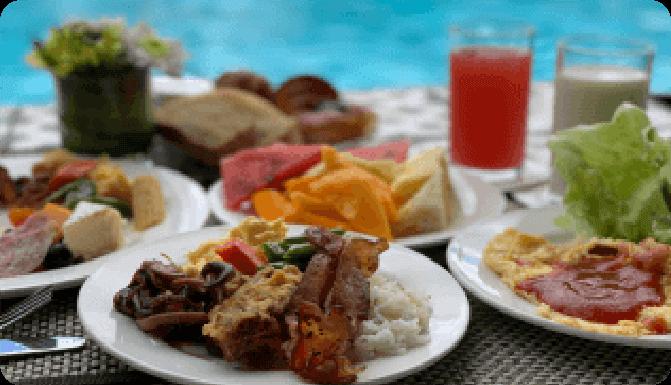 ホテルの朝食ビュッフェで優雅に一日をスタート!