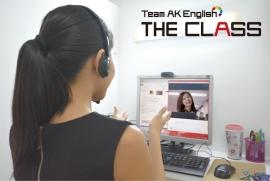 AK ENGLISH オンラインレッスン The Class メインイメージ